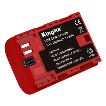 Аккумулятор KingMa LP-E6N 2000mAh