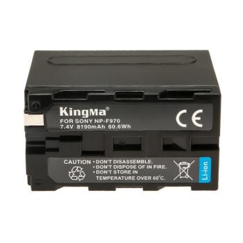 Аккумулятор KingMa NP-F970 8190mAh