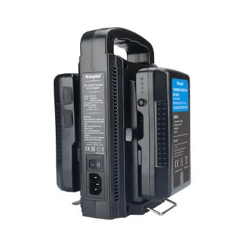 Зарядное устройство двойное KingMa BP-2CH для аккумуляторов V-Mount
