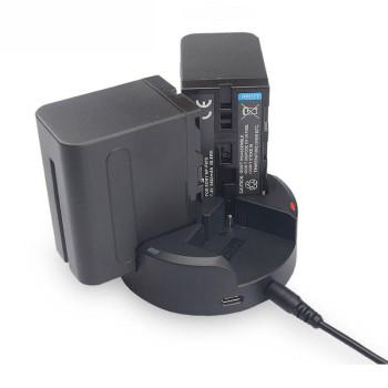 Зарядное устройство тройное KingMa BM045 для аккумуляторов