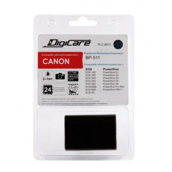 Аккумулятор DigiCare BP-511 для Canon EOS50D,40D,5D