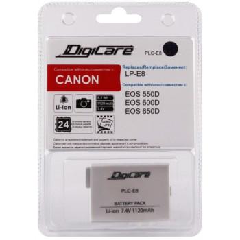 Аккумулятор DigiCare LP-E8 для Canon EOS650D,600D,550D