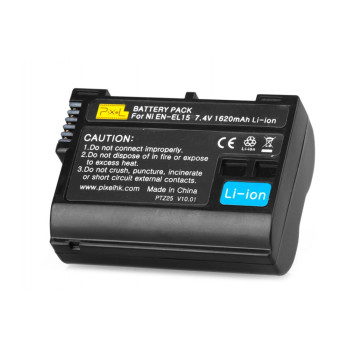 Аккумулятор Pixel LP-E15 для Nikon D810/D800/D750/D610/D7100