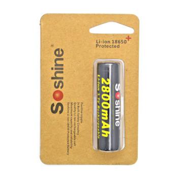Аккумулятор Soshine 18650 3.7В 2800 мАч