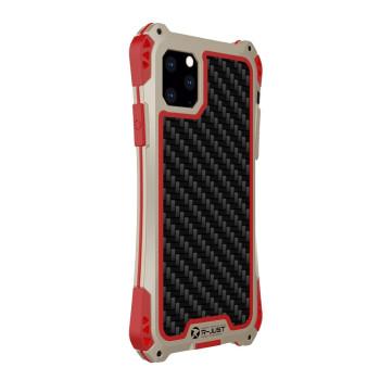 Чехол R-Just Amira для iPhone 11 Pro Max Красно-золотой