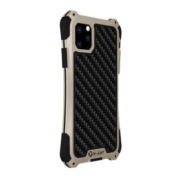 Чехол R-Just Amira для iPhone 11 Pro Max Чёрно-золотой