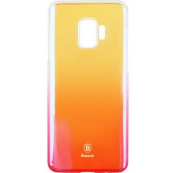 Чехол Baseus Glaze для Galaxy S9 Розовый