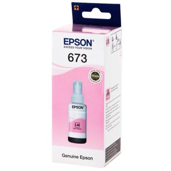 Чернила EPSON C13T67364A для L800 (light magenta) 70 мл