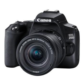Фотокамера Canon EOS 250D Kit 18-55mm IS STM Black