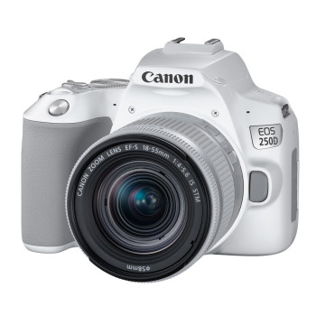 Фотокамера Canon EOS 250D Kit 18-55mm IS STM White