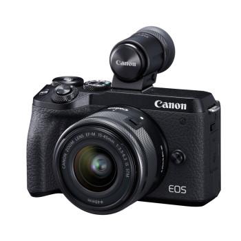 Фотокамера Canon EOS M6 Mark ll Kit 15-45mm IS STM + EVF Black