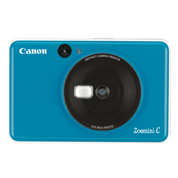 Камера моментальной печати Canon Zoemini C синяя