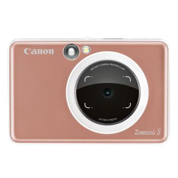 Камера моментальной печати Canon Zoemini S розовое золото