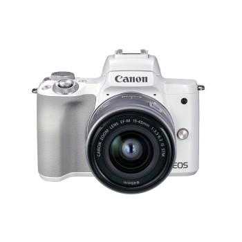 Фотокамера Canon EOS M50 Mark II 15-45 IS STM (White)