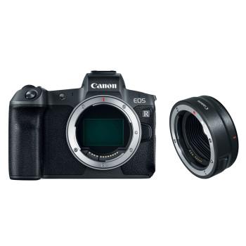 Фотокамера Canon EOS R Body + EF-EOS R адаптер