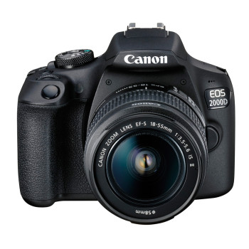 Фотокамера Canon EOS 2000D Kit 18-55mm DC