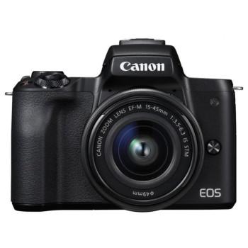 Фотокамера Canon EOS M50 Kit 15-45mm IS STM black