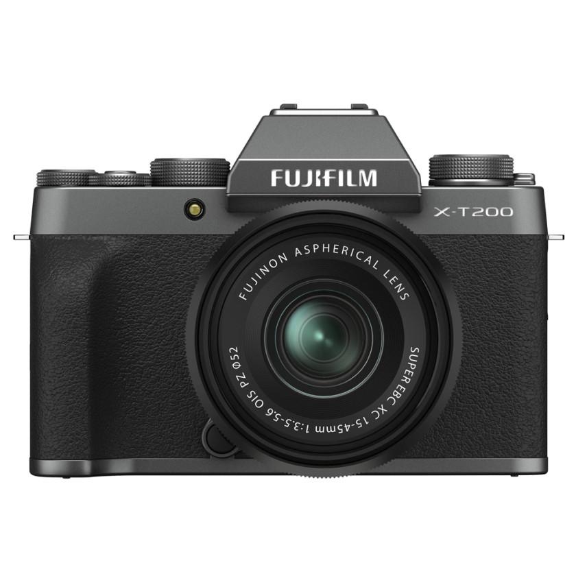 Фотокамера Fujifilm X-T200 Kit 15-45mm Dark Silver