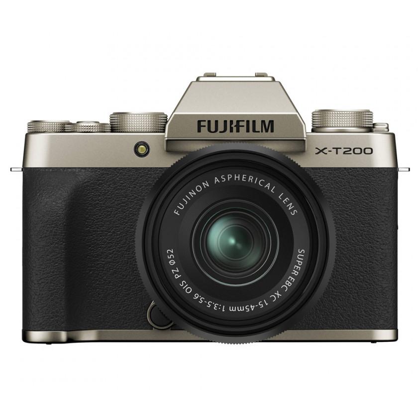 Фотокамера Fujifilm X-T200 Kit 15-45mm Gold