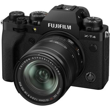 Фотокамера Fujifilm X-T4 Kit 18-55mm Black