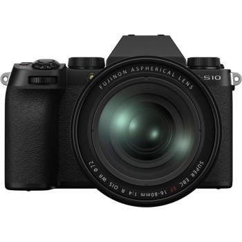 Фотокамера Fujifilm X-S10 Kit 16-80mm Black
