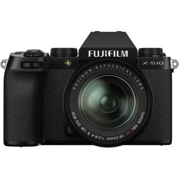 Фотокамера Fujifilm X-S10 Kit 18-55mm Black