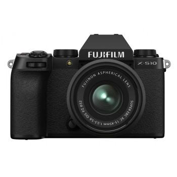 Фотокамера  Fujifilm X-S10 Kit 15-45mm f/3.5-5.6 OIS PZ