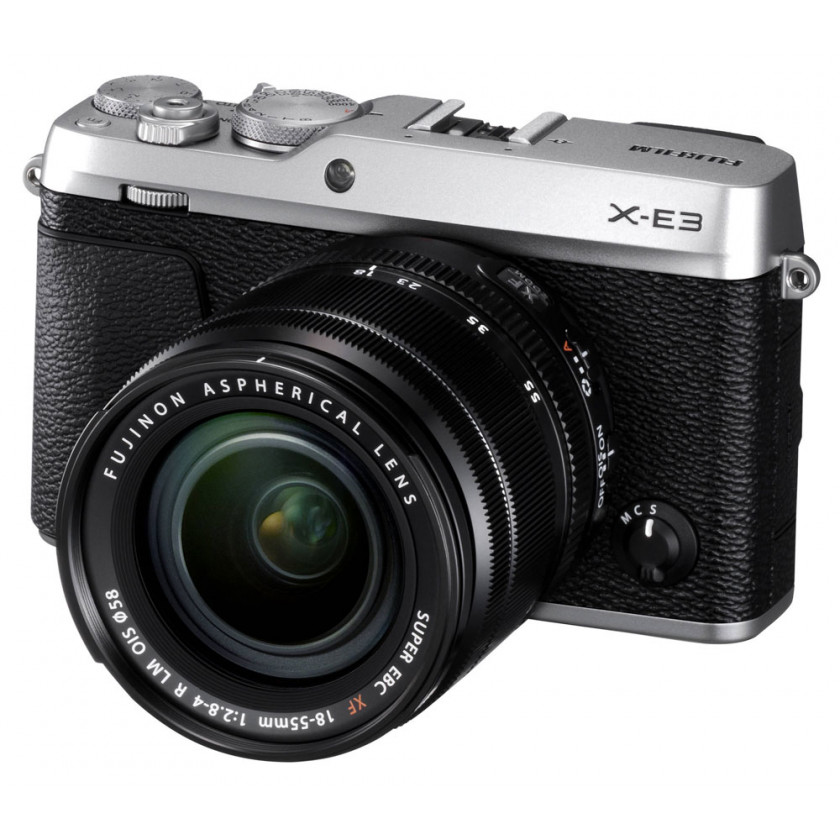 Фотокамера Fujifilm X-E3 Kit 18-55mm Silver
