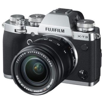 Фотокамера Fujifilm X-T3 Kit 18-55mm F2.8-4.0 R LM OIS Silver