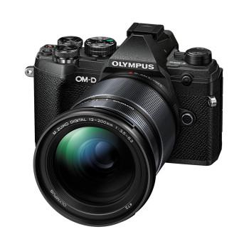 Фотокамера Olympus E-M5III Kit 12-200mm blk/blk