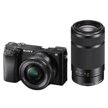 Фотокамера Sony ILCE-6100YB kit 16-50mm + 55-210mm black