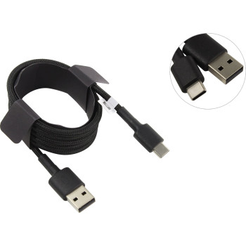 Кабель Xiaomi Mi Type-C Braided Cable SJV4109GL Black