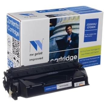 Картридж NV Print CF280X_NVP (тип CF280X), черный, 6900 стр., для HP LJ Pro 400/M401/M425