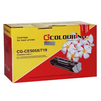 Картридж CG-CE505X/719 для принтеров HP LJ P2050/P2055/P2055D/P2055DN/Canon LBP 6300dn/6650dn/MF5840dn/5880dn/MF5940 6500 копий Colouring