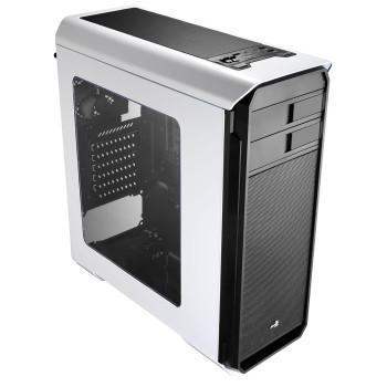 Корпус Aerocool Aero-500 Window White + картридер SD/micro SD , ATX, 1x USB 3.0, 2x USB 2.0, 2х реобаса, фильтры от пыли, окно.