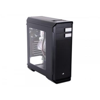 Корпус Aerocool Aero-500 Window Black  ATX, 1x USB 3.0, 2x USB 2.0, 2х реобаса, фильтры от пыли, окно.