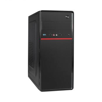 Корпус Miditower ExeGate AA-328U-450W-8 (ATX, БП AA450W с вент. 8см, 2*USB+1*USB3.0, аудио, черный)