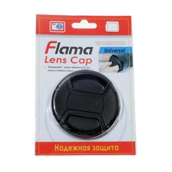 Крышка Flama FL-55 для обьектива 55mm с веревочкой