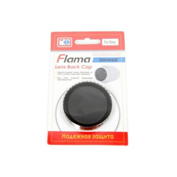 Крышка Flama FL-BCS задняя для объективов Sony