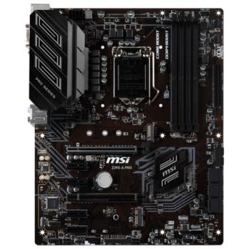 Материнская плата MSI Z390-A PRO Soc-1151v2 Intel Z390 4xDDR4 ATX AC`97 8ch(7.1) GbLAN RAID