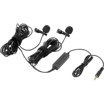 Микрофон петличный Saramonic LavMicro 2M двойной с кабелем 6 м