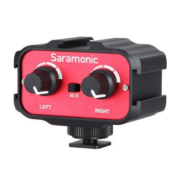 Saramonic SR-AX100 микшер накамерный для DSLR