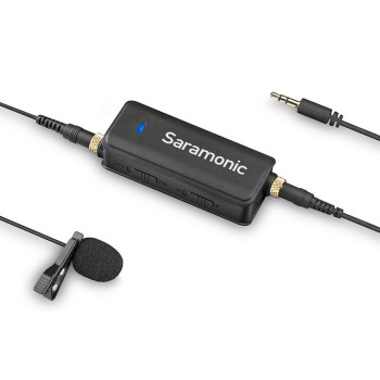 Микрофон петличный с аудиомикшером Saramonic LavMic