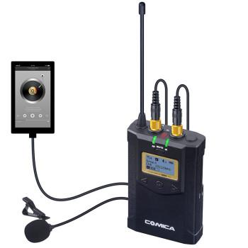 Радиосистема CoMica CVM-WM100 plus UHF (2 трансмиттера + 1 ресивер)