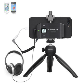 Радиосистема CoMica UHF CVM-WS50 A для смартфона с пультом