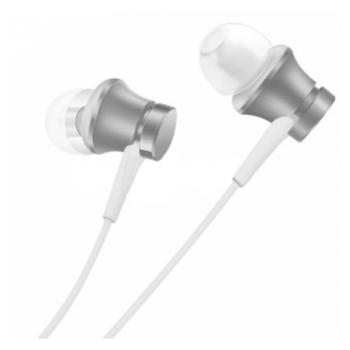 Наушники Xiaomi Mi In-Ear Headphones Basic ZBW4355TY Silver