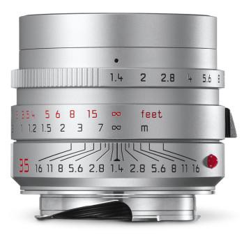Объектив Leica Summilux-M 35 мм, f/1.4, ASPH, серебристый, анодированный