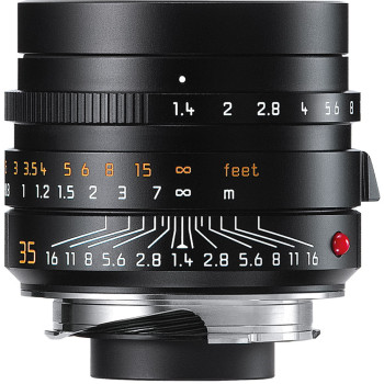 Объектив Leica Summilux-M 35 мм, f/1.4, ASPH, черный, анодированный