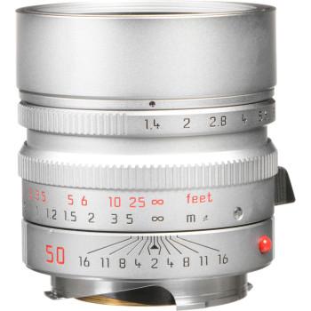 Объектив Leica Summilux-M 50 мм, f/1.4, ASPH, серебристый хром