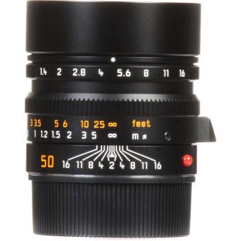Объектив Leica Summilux-M 50 мм, f/1.4, ASPH, черный, анодированный